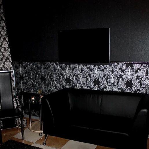 Черная комната для гостей - изображение